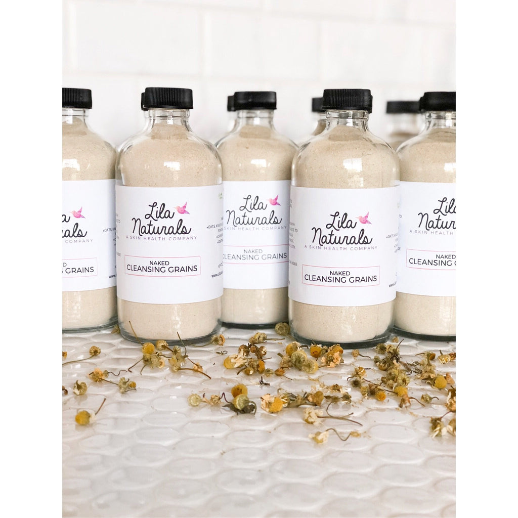 Naked Cleansing Grains - Lila Naturals