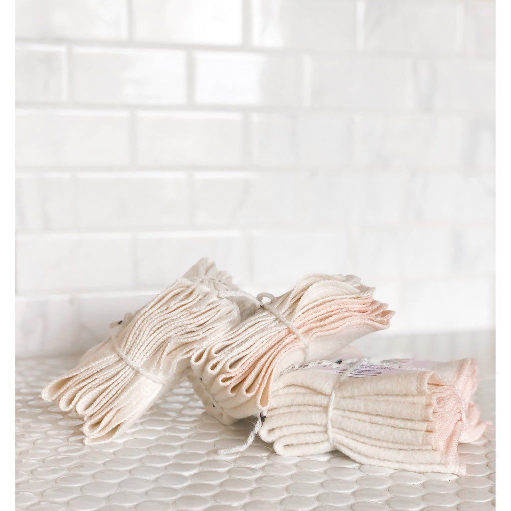 Organic Bamboo Cotton Cleansing Cloths - Lila Naturals