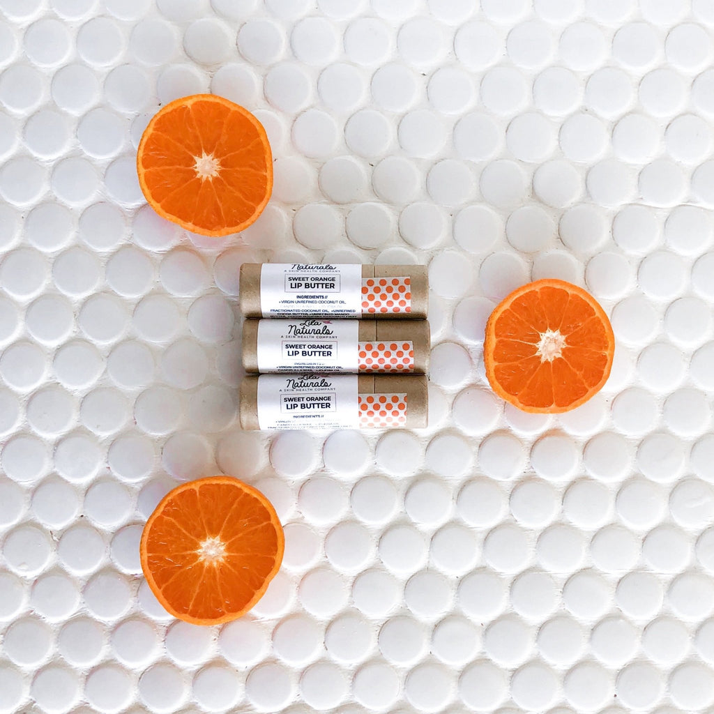 Sweet Orange Lip Butter - Lila Naturals