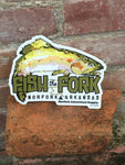 Fish the Fork Sticker