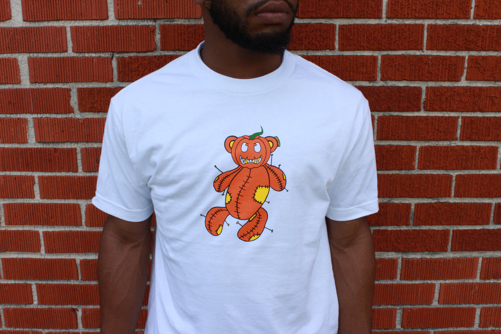 Kreepy The Pumpkin T-Shirt (White)