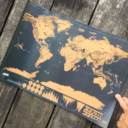 Scratch off universal world map poster moozeeore gumiabroncs Gallery