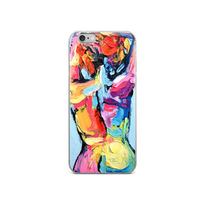 Femme 46 Abstract Nude iPhone Case