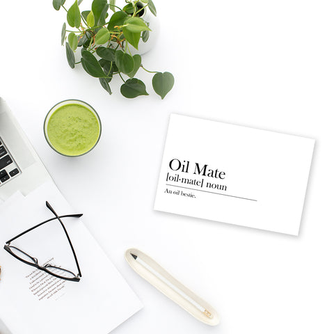 Oil Mate Postcard