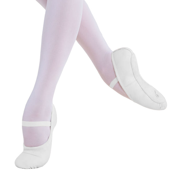 BALLET SHOE FULL SOLE WHITE ADULT BSA01 - ENERGETIKS