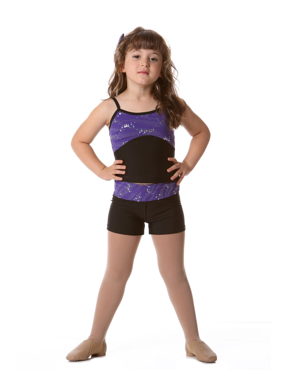 CHILDRENS GLITTER HOT SHORTS - CHS03 - STUDIO 7