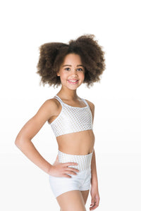 CHILDRENS ILLUSION ROLL TOP SHORTS - CHS05 - STUDIO 7