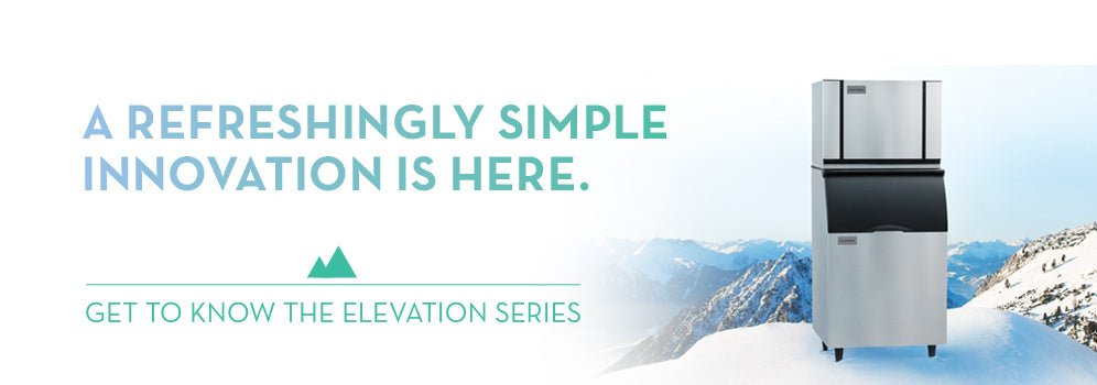 Ice-O-Matic Elevation Series Banner
