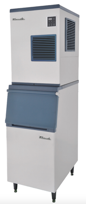 Blue Air BLMI-300A on a BLIB-300S Ice Bin