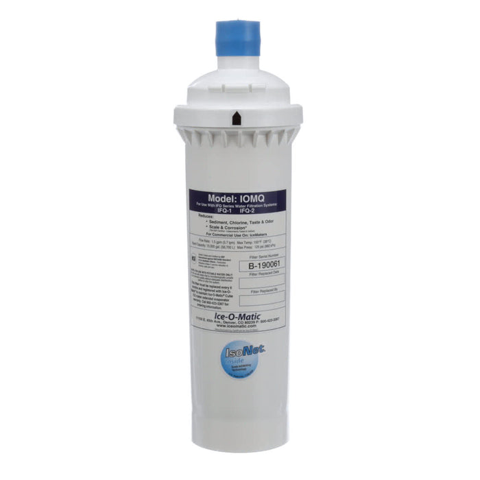 Ice-O-Matic IOMQ Water Filtration Replacement Cartridge (IFQ1)(IFQ2)