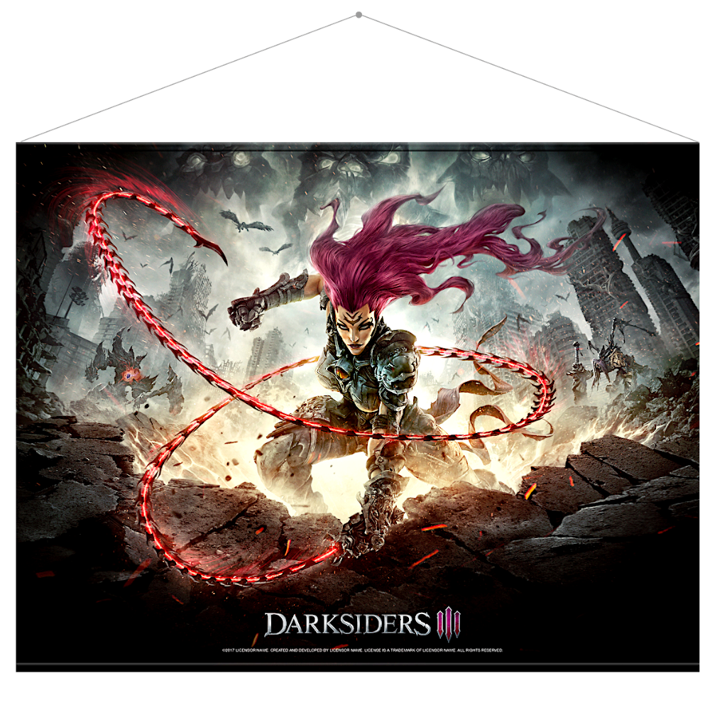 Darksiders 3 Wallscroll: Keyart