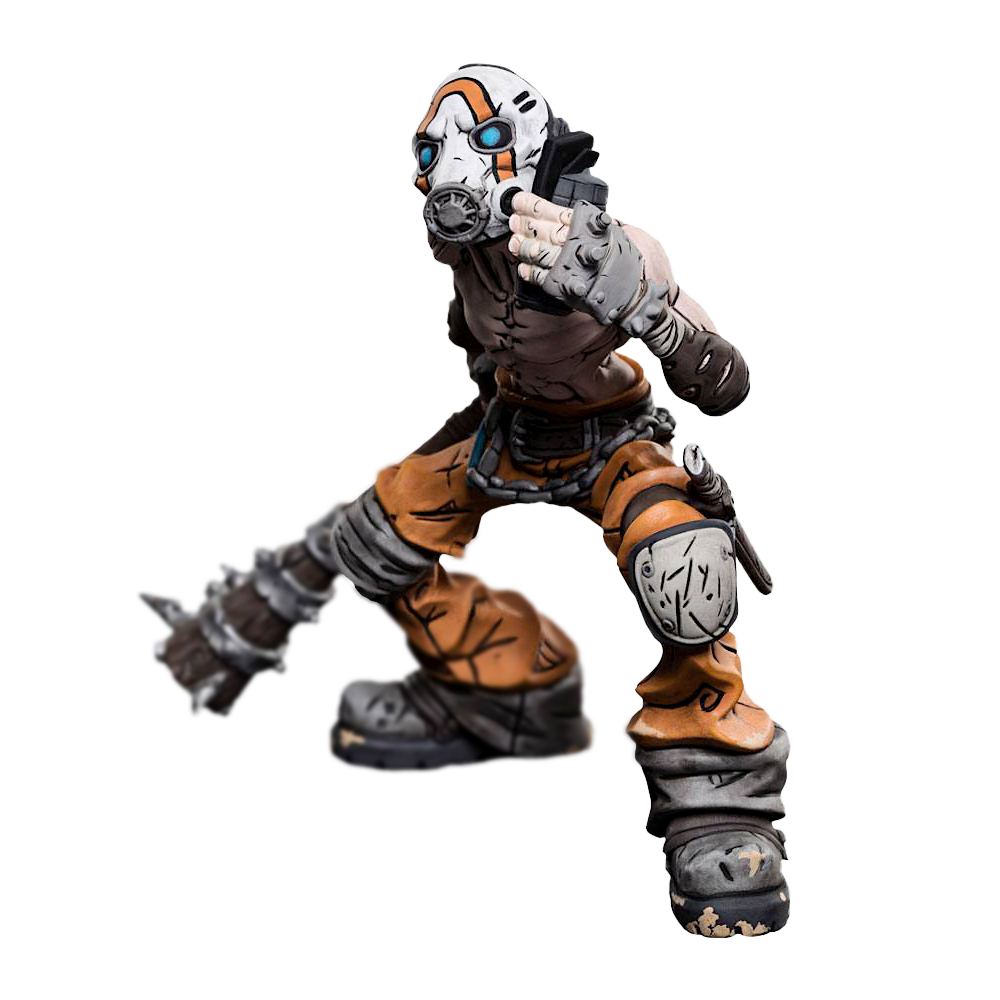 Borderlands 3 Mini Epics Statue: Psycho Bandit 13cm