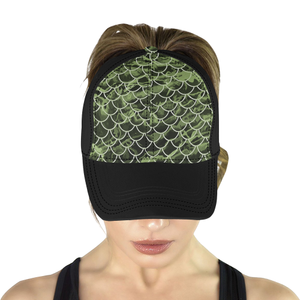 Mermaid Scale Camo Hat