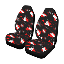 Load image into Gallery viewer, Dive Mermaid Car Seat Covers (Set of 2)