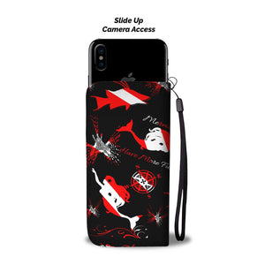 Dive Mermaid Phone Case and Wallet