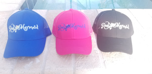 Reel Mermaid Ponytail Trucker Hat