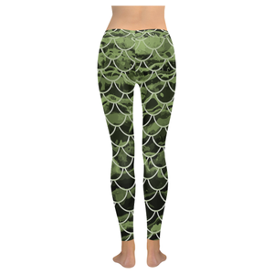 Mermaid Scale Camo Leggings