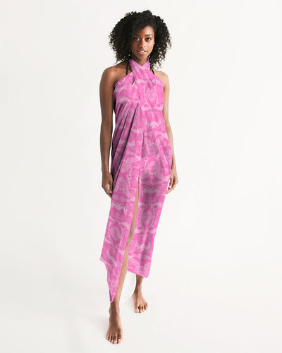 Pink Saltwater Camo Swim Cover Up