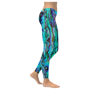 Abalone Print New All-Over Women's Leggings