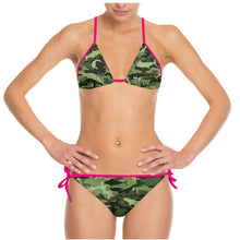 Load image into Gallery viewer, Green Saltwater Camo with Hot Pink Strings (Mix and Match Sizes)
