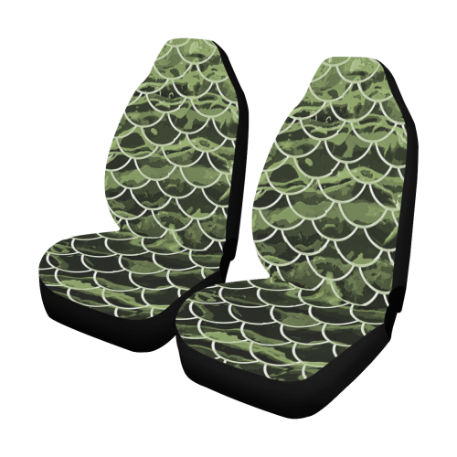 Mermaid Scale Camo Car Seat Covers (Set of 2)