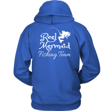 Load image into Gallery viewer, Reel Mermaid Fishing Team Hoodie