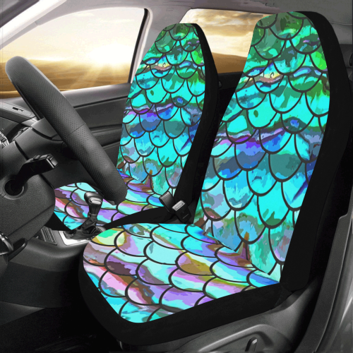Mermaid Scale Car Seat Covers (Set of 2)