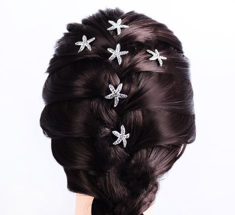 Starfish Hairpins