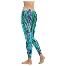 Load image into Gallery viewer, Abalone Print New All-Over Women's Leggings