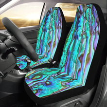 Load image into Gallery viewer, Abalone Car Seat Cover (Set of 2) - Island Mermaid Tribe