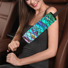 Load image into Gallery viewer, Mermaid Scale Seat Belt Cover