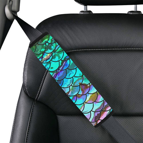 Mermaid Scale Seat Belt Cover