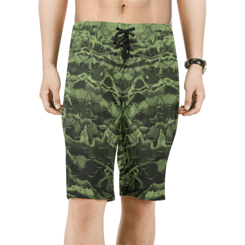 Mermaflage Dark Men's Board Shorts