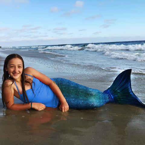 Mermaid Tail and Monofin
