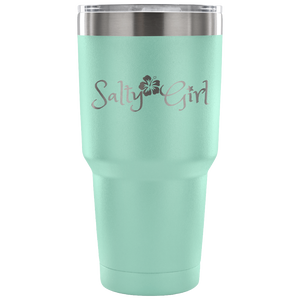 Salty Girl Stainless Steel 30 Ounce Vacuum Tumbler (7 Color Options)
