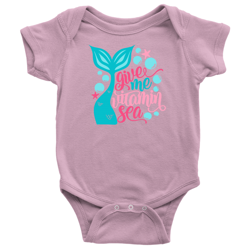 Give Me Some Vitamin Sea!  Baby Onsie