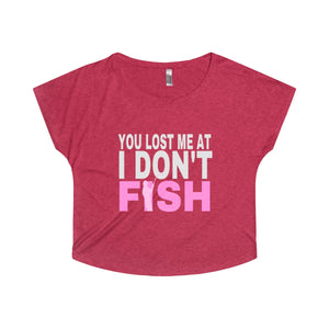 You Lost Me At I Don't Fish