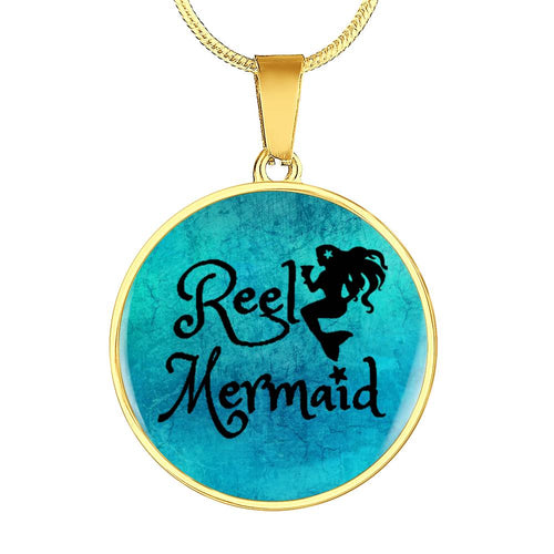 Reel Mermaid Bracelet or Pendant that can be engraved!