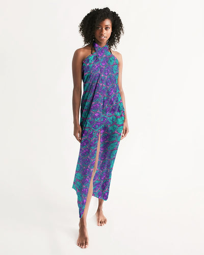 Purple Haze Scales Swim Cover Up