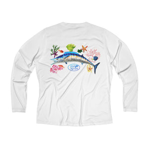 Wahoo Long Sleeve Performance V-neck Tee