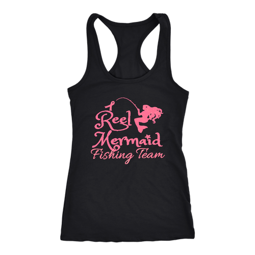 Fishing For a Cure - Reel Mermaid Fishing Team in Pink - Island Mermaid Tribe