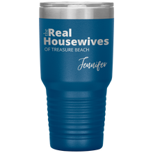 Load image into Gallery viewer, The Real Housewives 30 oz Tumbler with your location and name - Island Mermaid Tribe