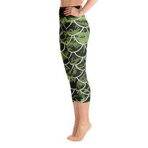Mermaflage Yoga Capri Leggings