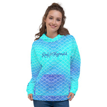 Load image into Gallery viewer, Ombre Blues Hoodie