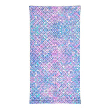 Load image into Gallery viewer, Mermaid Periwinkle Neck Gaiter