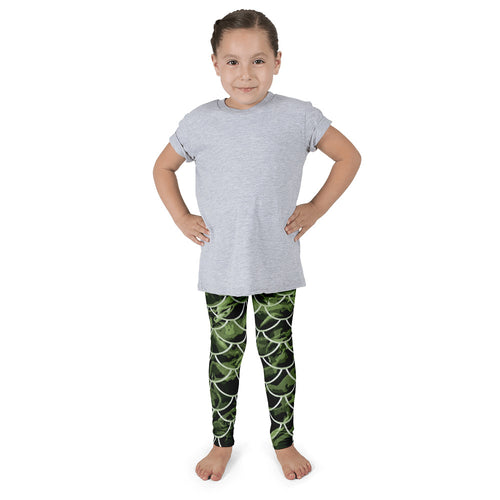 Mommy and Me Mermaflage Kid's leggings