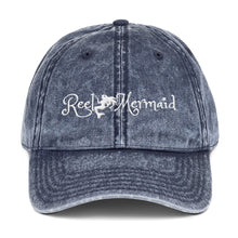 Load image into Gallery viewer, Reel Mermaid Vintage Cotton Twill Hat