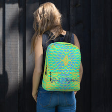 Load image into Gallery viewer, Yellow Tail Reel Mermaid Backpack