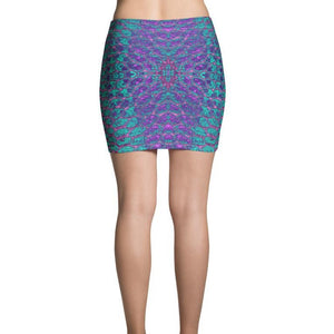 Purple Haze Mini Skirt