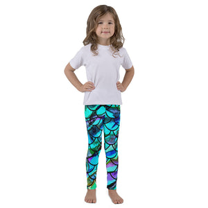 Mommy and Me Mermaid Scale Kid's leggings